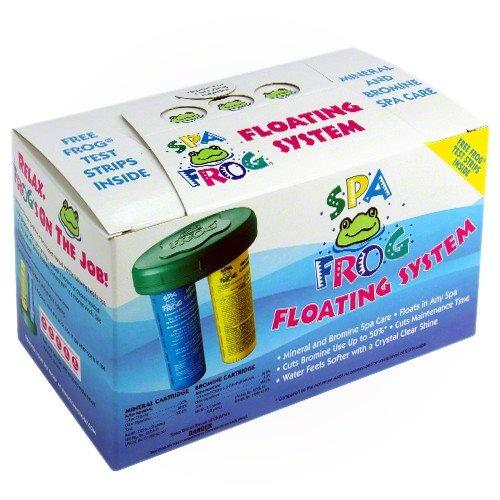 Hot Tub Spa Frog Chemicals Floating System 01-14-3882 by KING TECHNOLOGY