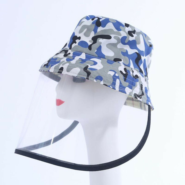 Anti-spitting Unisex Protective Fisherman Hat Outdoor Splash-Proof Baseball Cap