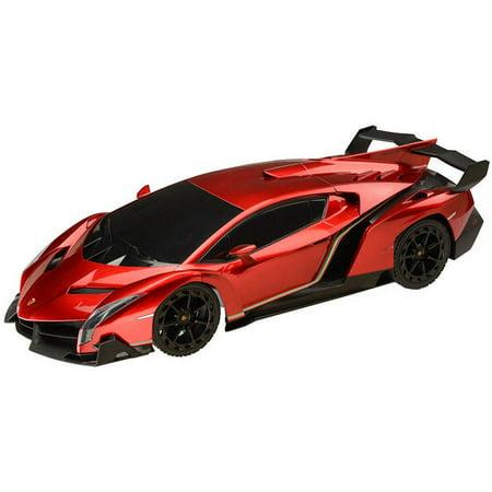 1 18 Scale Lamborghini Veneno R C Vehicle  6 Aa Batteries Required