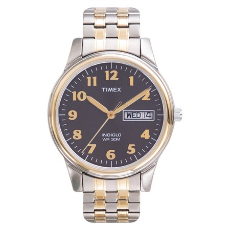 Timex Mens Easy Reader Watch, Two-Tone Extra