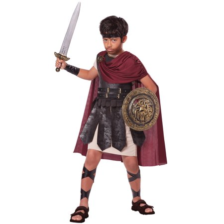 Spartan Warrior Child Costume - Mens Greek Spartan Warrior Costume