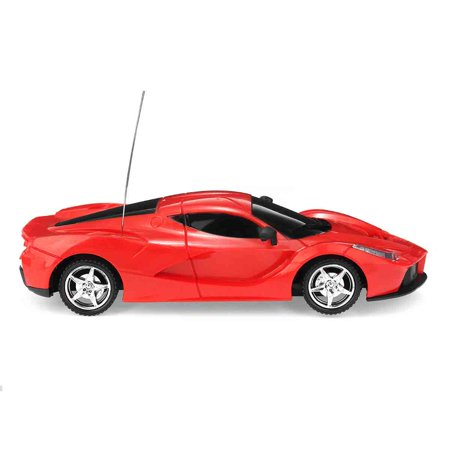 Electric Rc Model Parts - 1:24 Scale Electric Sport RC Racing Car Model Radio Remote Control Toy with Headlights Vehicle Hobby Grade Licensed for Kids Adults (Red) Gift