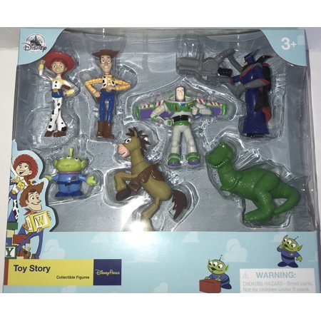 disney parks pixar toy story playset cake topper new with box (Toy Story Girl Characters)