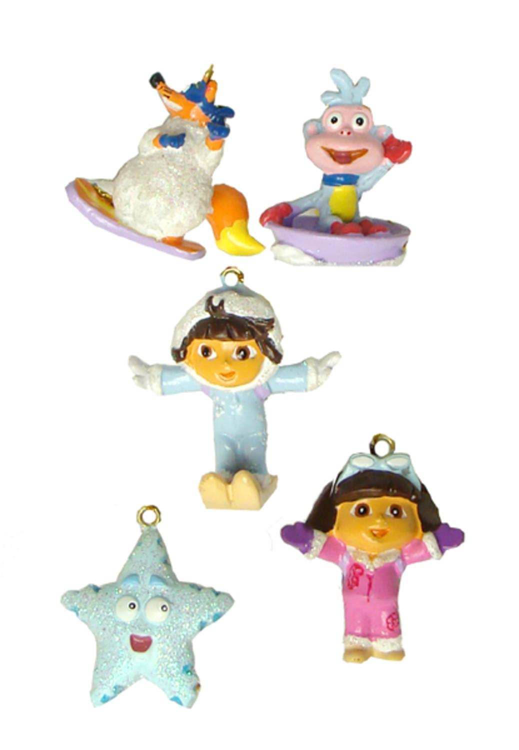 Set of 5 Dora the Explorer Mini Swiper, Boots & Friends Christmas ...