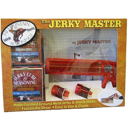 Jerky master kit food beverages tobacco food items snack foods pork