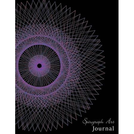 Spirograph Deluxe (Spirograph Art Journal : Notebook Blank Paper for Spirograph Art, Drawing, Doodling, Sketchbook Kids Art, 120 Pages ( 8.5x11)