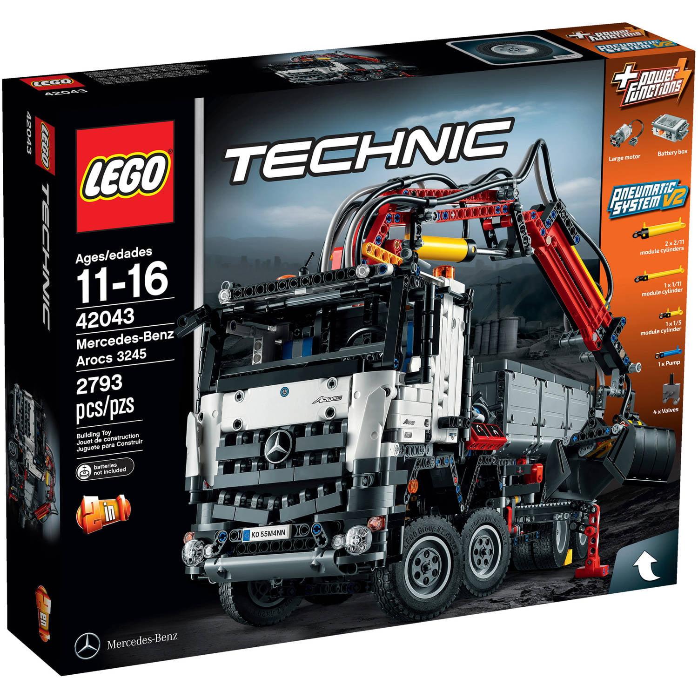 Lego Technic Mercedes-Benz Arocs 3245, 42043 by LEGO Systems, Inc.