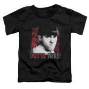 The Three Stooges Get Outta Here Little Boys Shirt