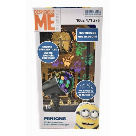 Despicable Me Minions Whirl-A-Motion LightShow Spotlight](Minions Phrases)