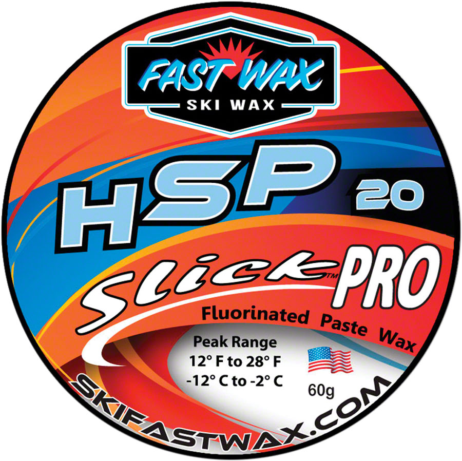 Fast Wax HSP-20 Slick Pro Wax: Blue