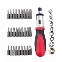 Ultra Steel Screwdriver 37-Piece Bit Set