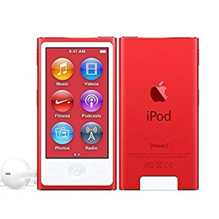 Apple iPod Nano 7th Generation 16GB (PRODUCT) Red , New in Plain White Box, 90 Day Warranty!
