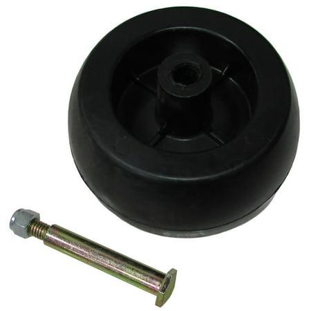 HD Wheel + Bolt + Nut For Mower Front Rear Deck Wheel Craftsman MTD 734-3058B 753-04856A 753-04856 133957 174873 Mower Wheel Bolt