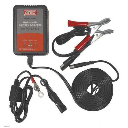 ATEC 9003 Battery Charger and Maintainer,6/12VDC G2010690