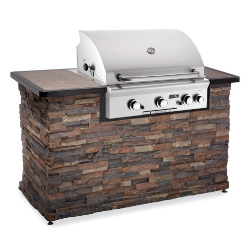 American Outdoor Grill 30 in. 3 Burner Built-In Gas Grill with Optional Liner