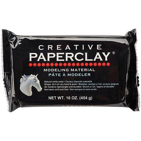 Creative Paperclay 16 oz White - Walmart.com