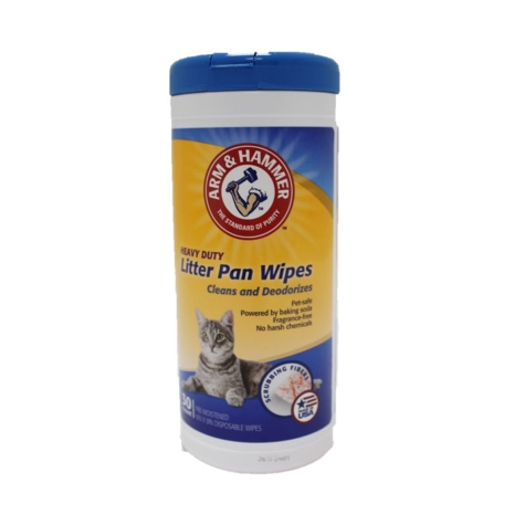Arm & Hammer, Litter Pan Wipes, 30 count