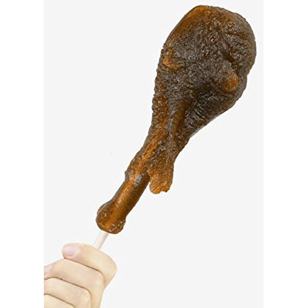 GIANT GUMMY Turkey Leg On a Stick 1/2 LB Cherry](Giant Gummy Snake)