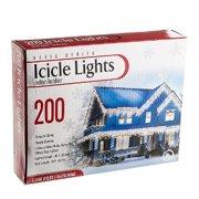 200 UL Clear Mini Bulbs Icicle Light Set
