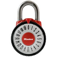 Master Lock 1588D Wide Magnification Combination Dial Padlock