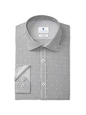 Ryan Seacrest Mens Non-iron Button Up Dress Shirt