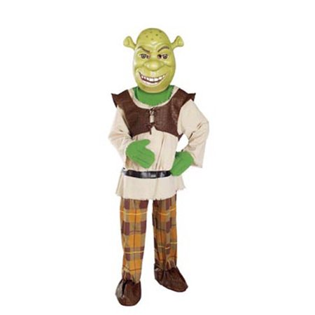 Child Deluxe Shrek Costume Rubies 884222 - Shrek Headpiece