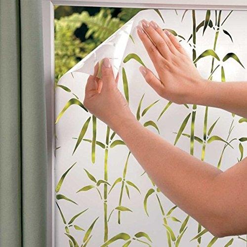 DermaPAD Decorative Window Film (Bamboo)
