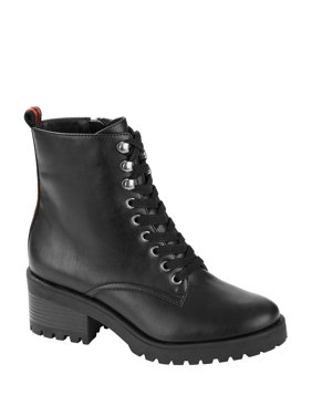Scoop Maxine Lug Sole Combat Boot Women's
