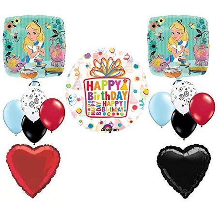 Alice In the Wonderland Birthday Tea Party Balloon Kit (Wonderland Prom Theme)
