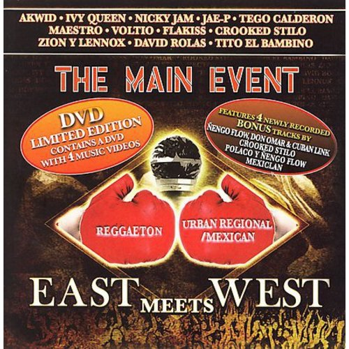 VARIOUS ARTISTS - THE MAIN EVENT: EAST MEETS WEST [CD & DVD]