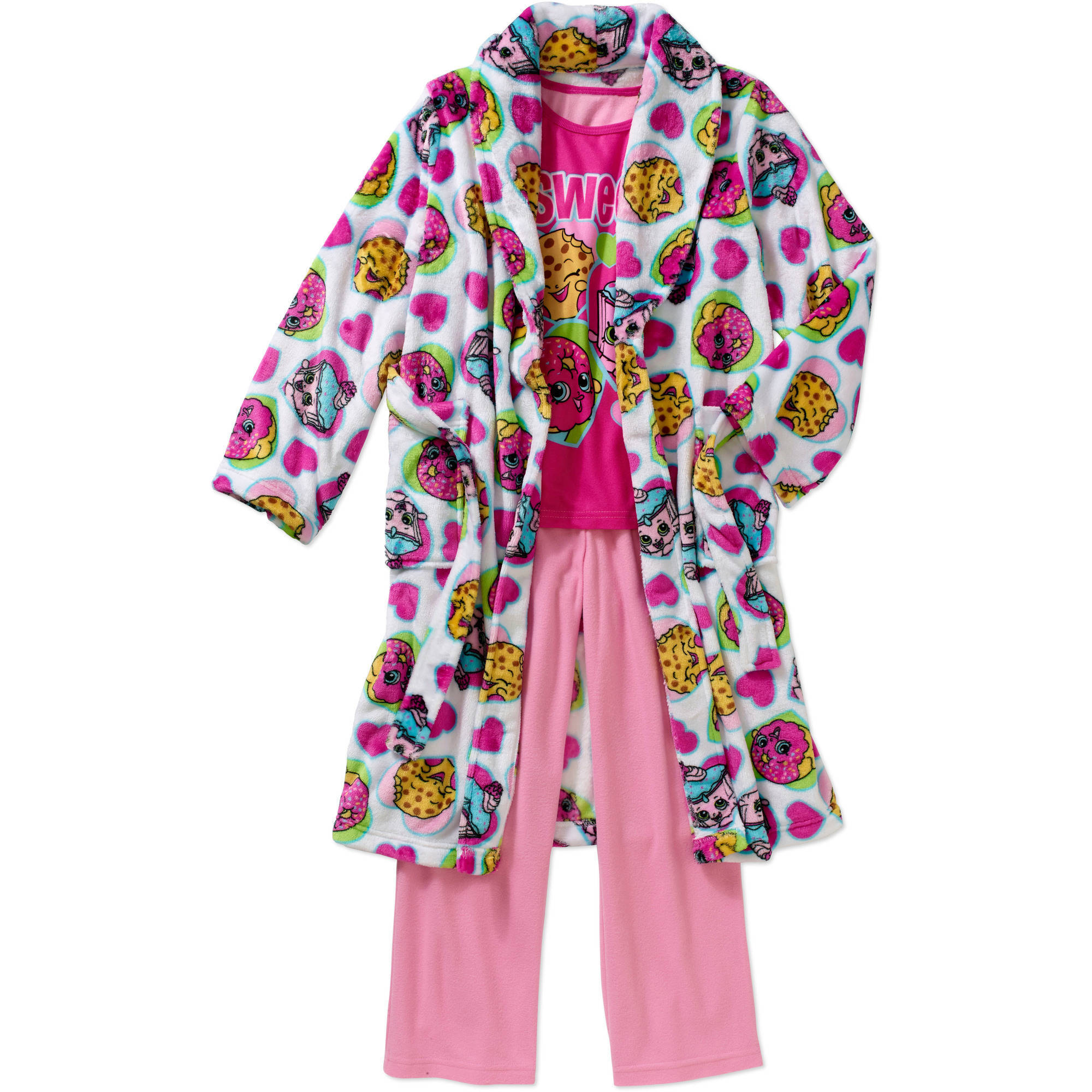 Girls' Licensed 3-Piece Robe Set