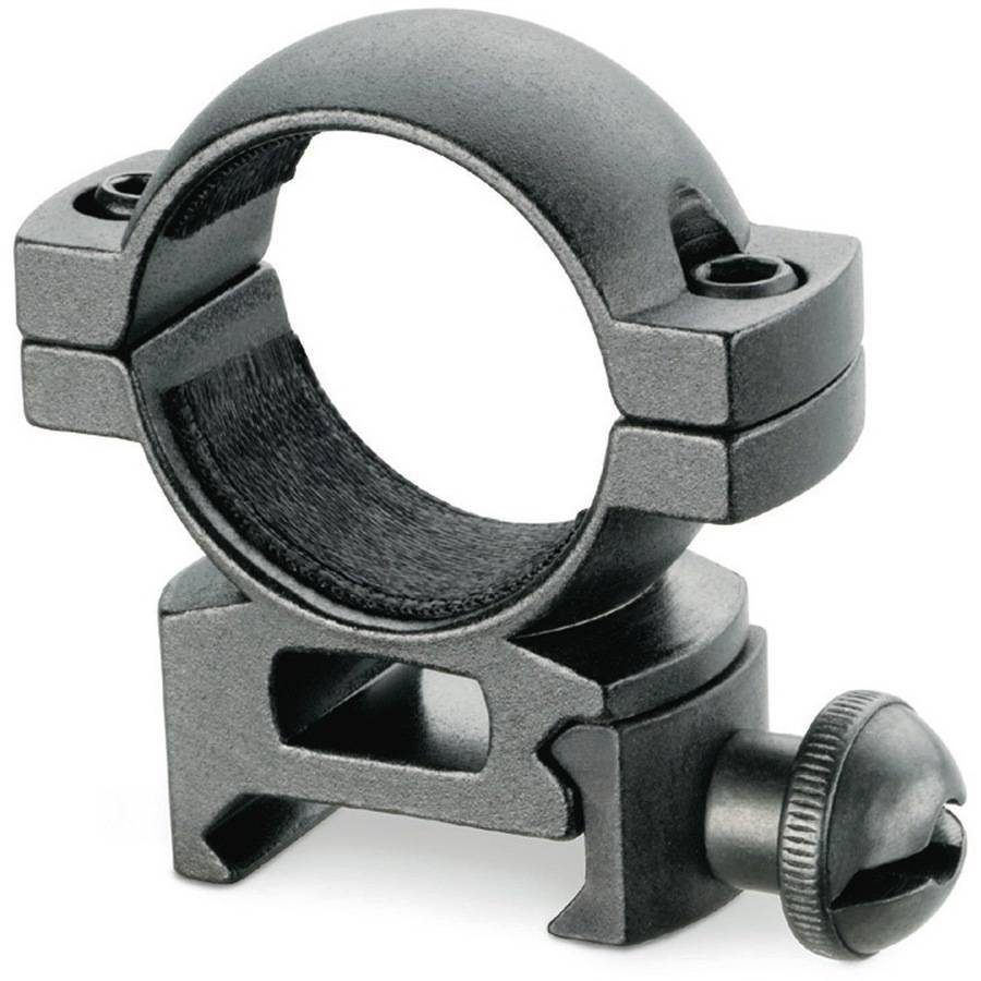 Tasco Centerfire Scope Rings, Black, Matte, High