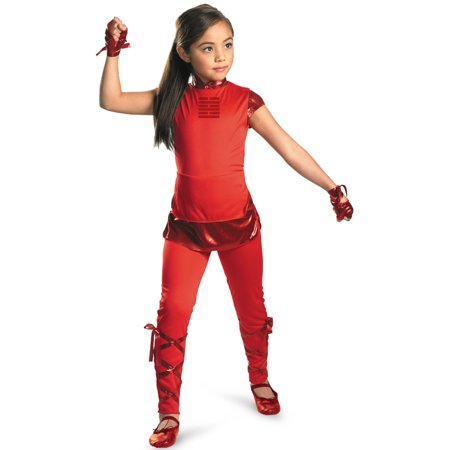 Gi Joe Costume (G.I. Joe Retaliation Jinx Classic Child Halloween)