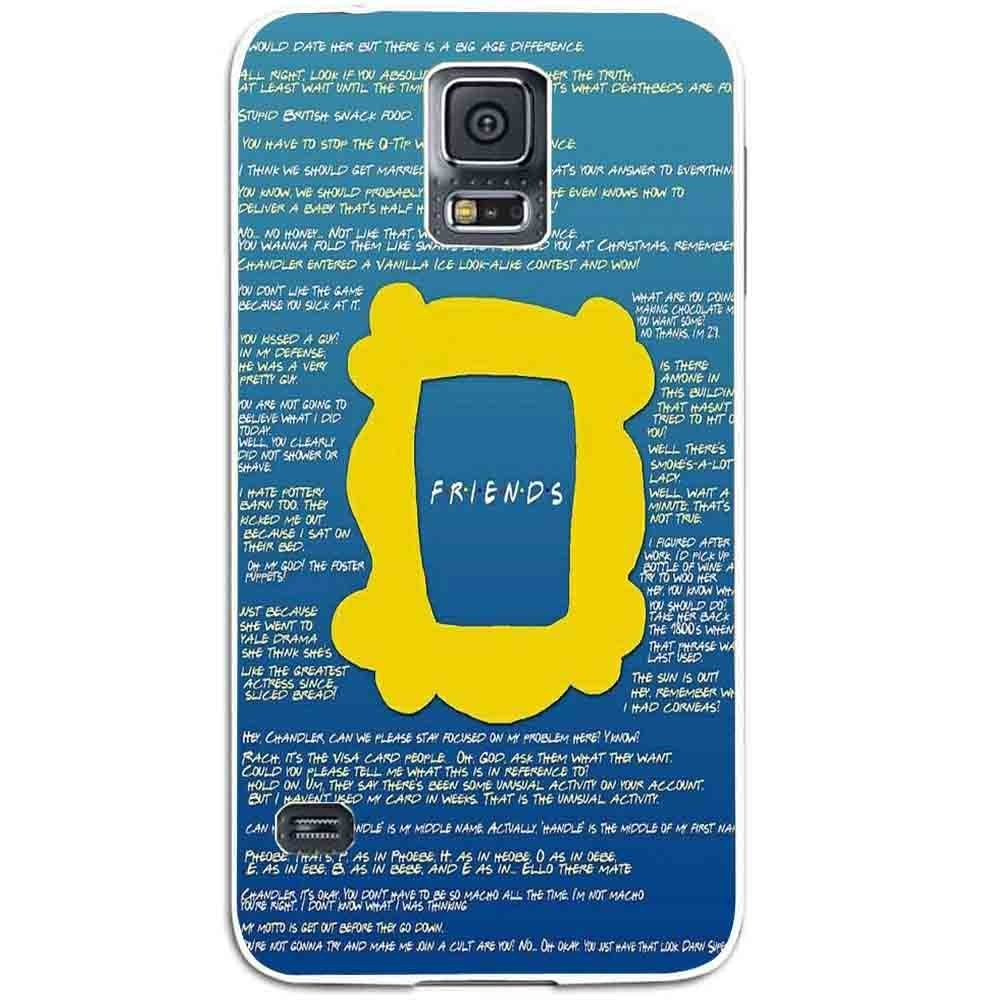 Ganma Friend Tv Show Collage Case For Samsung Galaxy Case (Case For Samsung Galaxy S5 white)