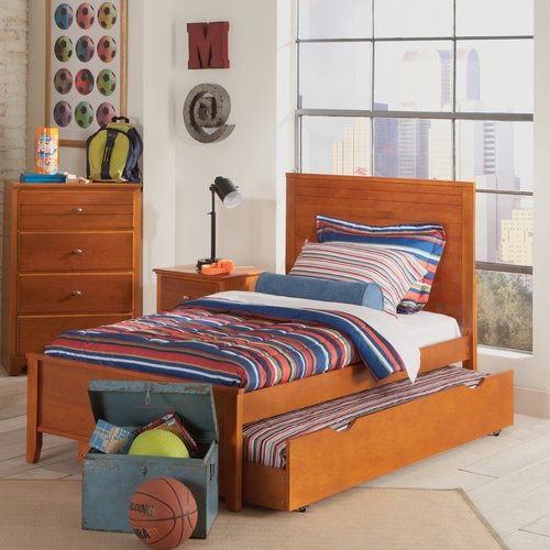 Coaster Ashton Trundle Bed in Gray by Coaster