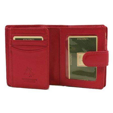 Visconti Heritage  31 Small Trifold Soft Light Leather Wallet   Purse  Fuscia