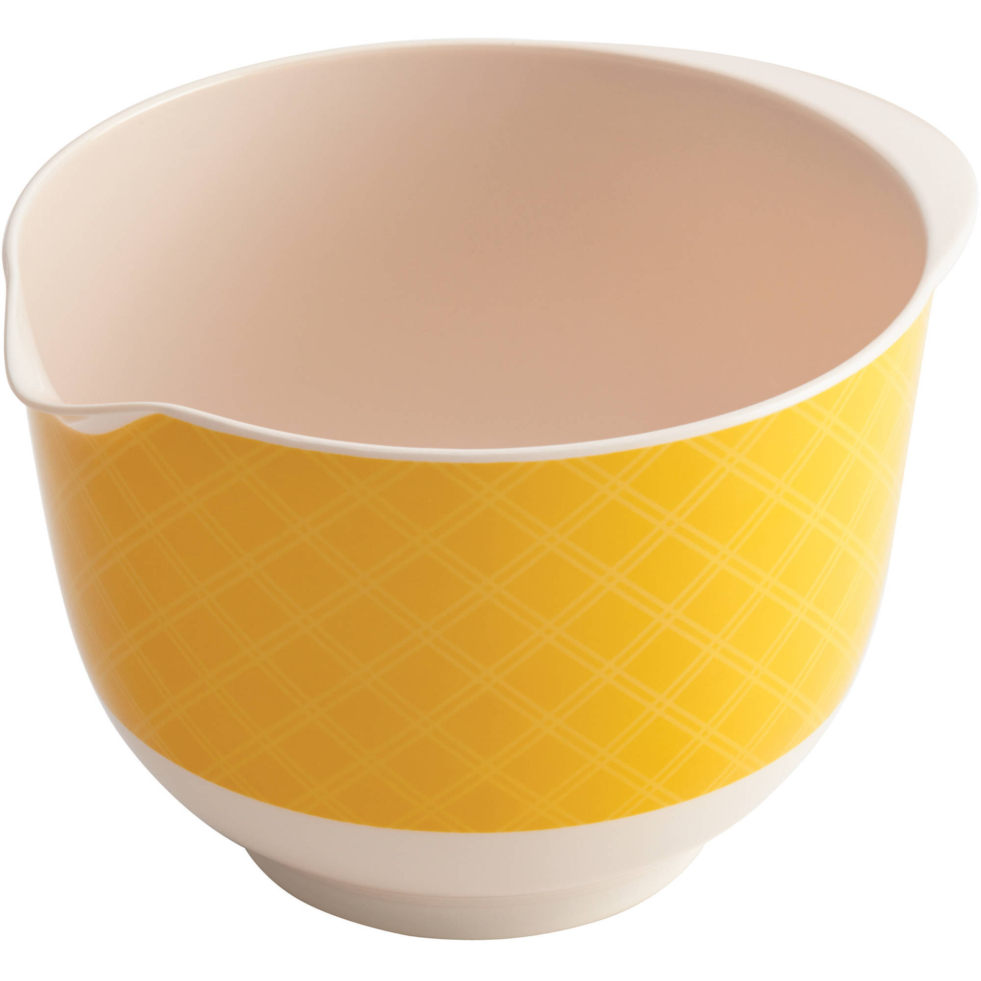 Cake Boss Countertop Accessories Melamine Mixing Bowl, 1.8-Quart, Basic Pattern by Meyer Corporation