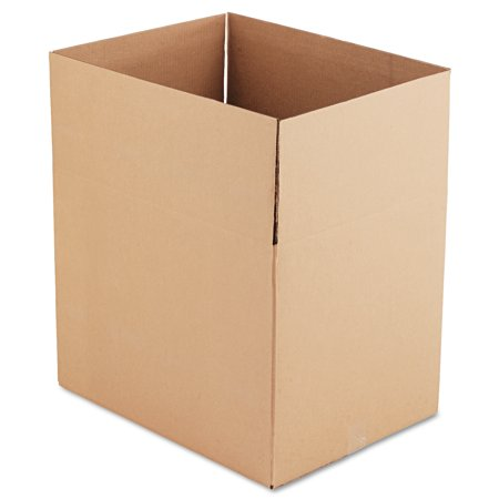 General Supply Brown Corrugated - Fixed-Depth Shipping Boxes, 24l x 18w x 18h, 10/Bundle -UFS241818 - Round Cardboard Boxes