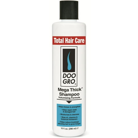 2 Pack - DOO GRO Mega Thick Growth Shampoo, 10 oz ()