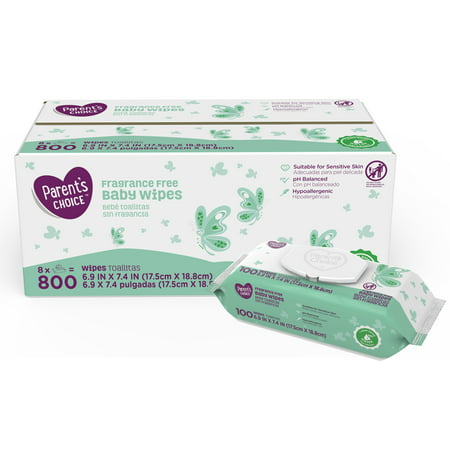 dca4986ee Parent s Choice Fragrance Free Baby Wipes (Choose Your Count ...