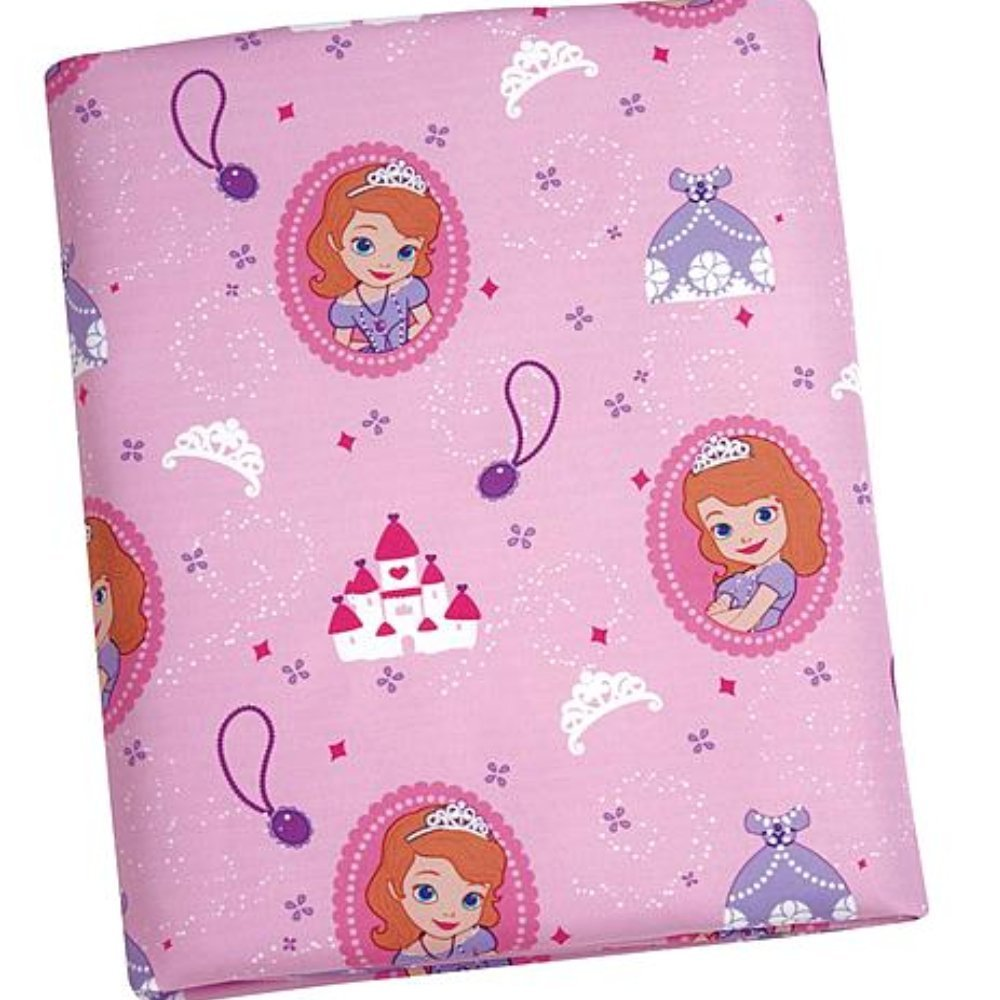 Disney Sofia The First 2 Piece Toddler Sheet Set