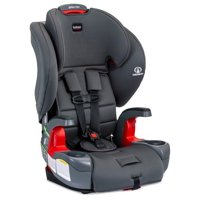 Britax Grow With You Harness-2-Booster Car Seat – 2 Layer Impact Protection – 25 to 120 Pounds, Pebble