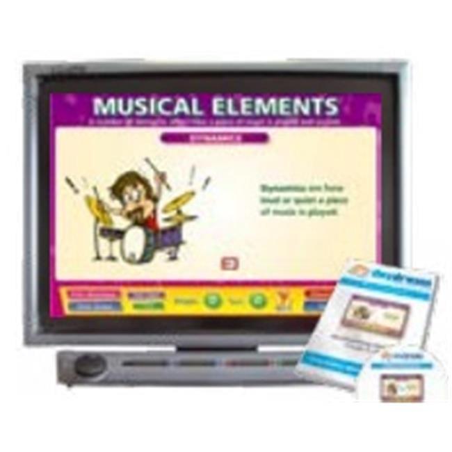 Daydream Education DD-MU-5-01 Musical Elements Interactive Software, Single User