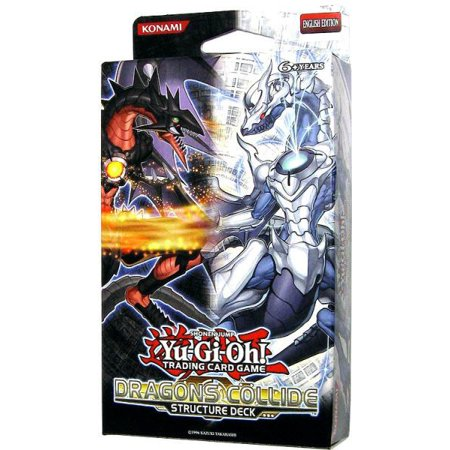 YuGiOh Dragons Collide Structure Deck Dragons Collide Structure Deck
