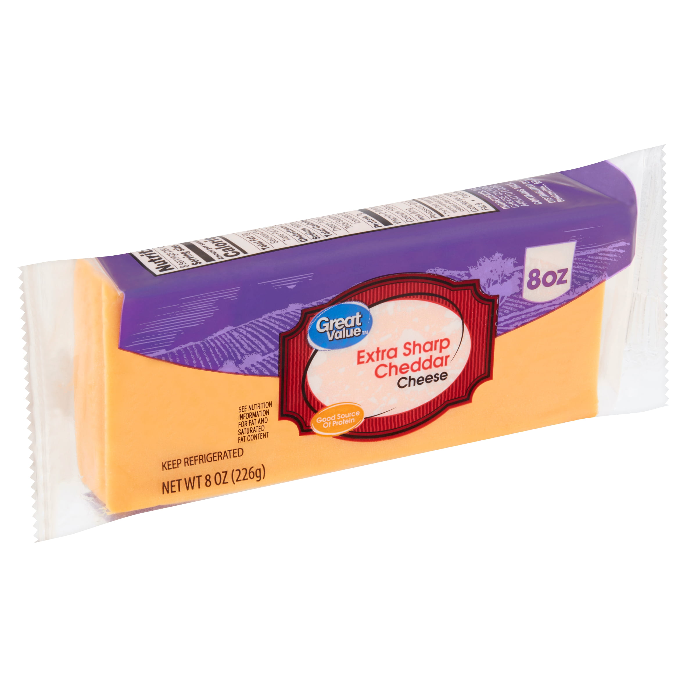 Great Value Extra Sharp Cheddar Cheese