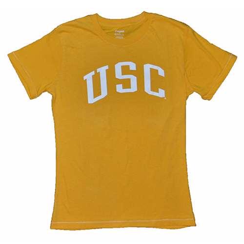 Usc Trojans Ladies T-shirt - Yellow