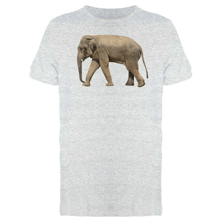 Walking Elephant Photo Tee Men's -Image by Shutterstock