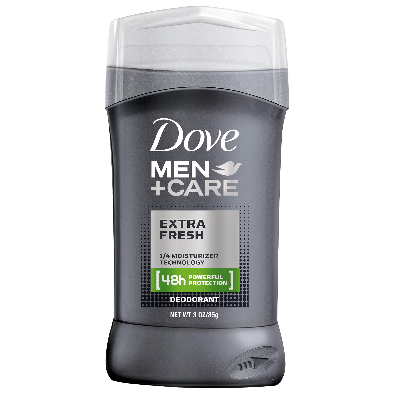 Dove Men+Care Extra Fresh Deodorant Stick, 3 oz