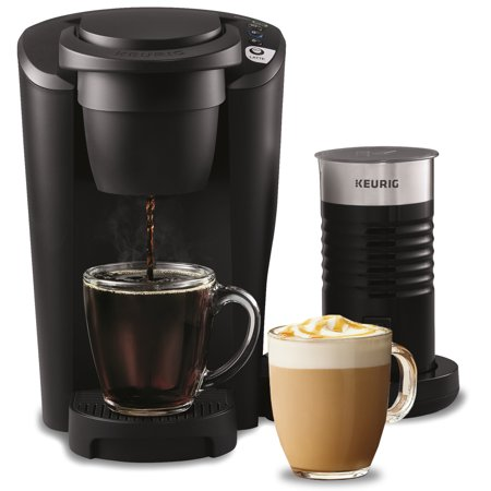 Keurig K-Latte Single Serve K-Cup Coffee and Latte Maker, Comes with Milk Frother, Compatible With all Keurig K-Cup Pods, Black
