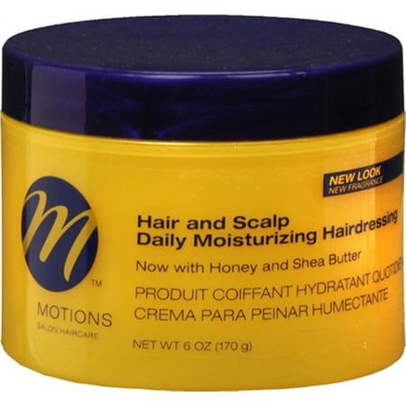 - Motions Nourish & Care, Hair & Scalp Daily Moisturizing Hairdressing 6 oz (Pack of 3)